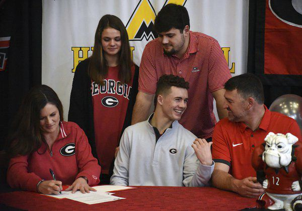 Home work: North Murray's McConkey ready to compete at Georgia