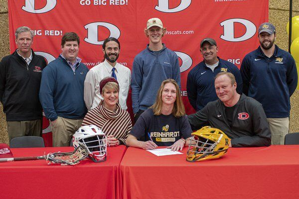 From on the rise to on top: Dalton's Hutchinson picks perennial champion Reinhardt to continue lacrosse career