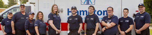 Hamilton Emergency Medical Services receives American Heart Association award