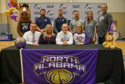 Coahulla Creek basketball's Woods signs with North Alabama