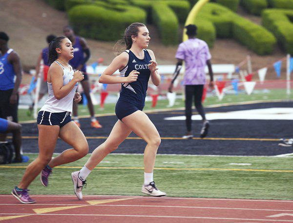 In her blood: Coahulla Creek state champion gets joy of running from family members