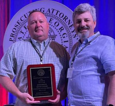 Caylor named District Attorneys Investigator of the Year