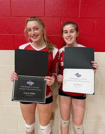 High school volleyball: Dalton takes two in region tournament to move on