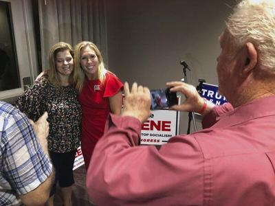 Challenger's withdrawal essentially guarantees Greene's Congress victory