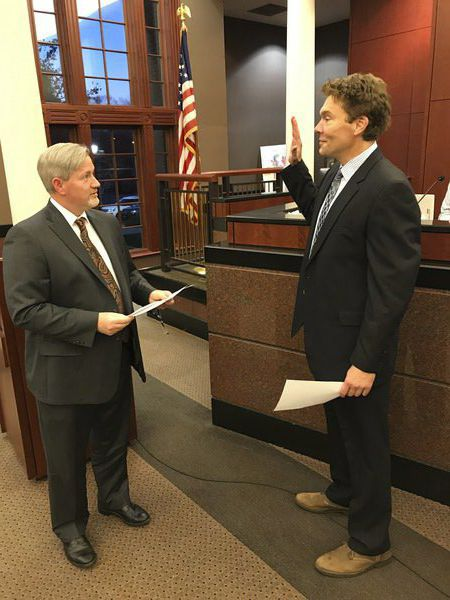 New Dalton mayor, council member sworn in