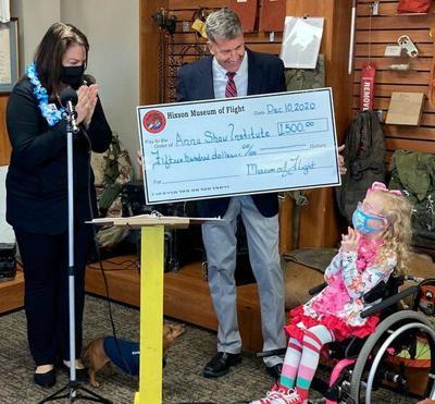 Museum donates to Anna Shaw Children's Institute