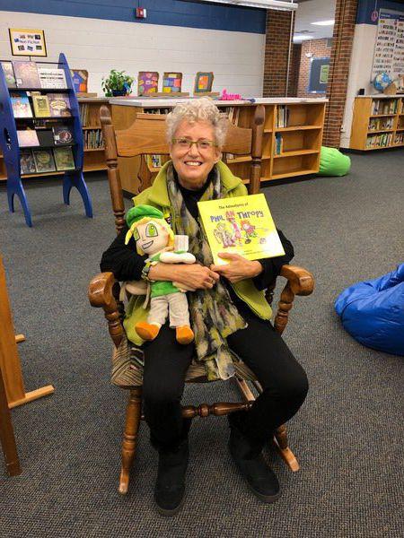 Author visits Westside Elementary