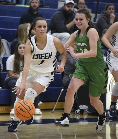 High school basketball roundup: Creek girls race by Murray County