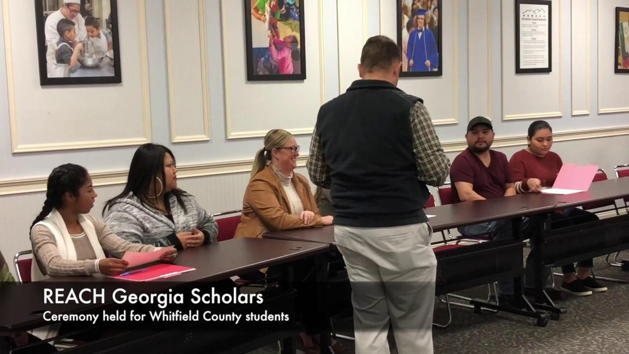 Whitfield County Schools Holds Reach Georgia Signing Ceremony