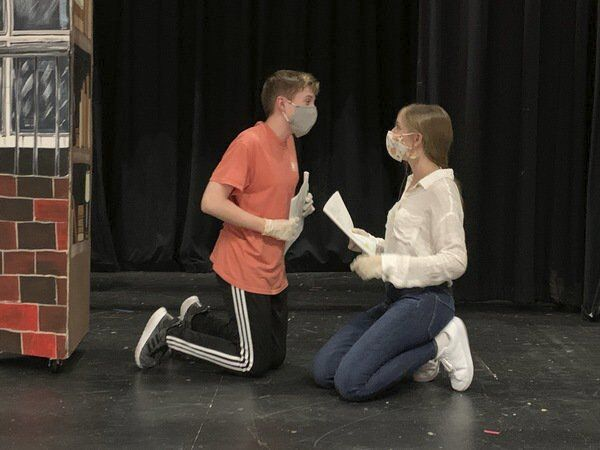 Safe drama rehearsals at Dalton High School