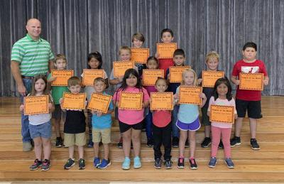 Spring Place Elementary names students of the month