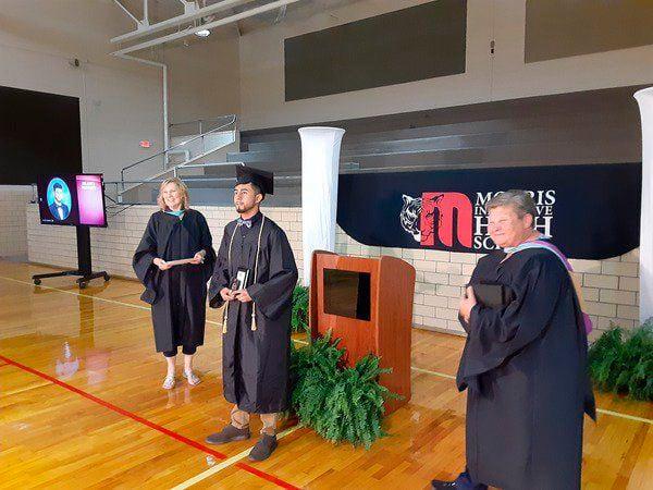 Morris celebrates seniors with individual graduation ceremonies