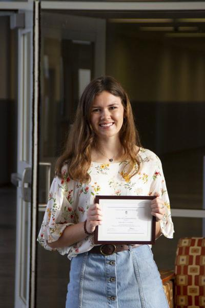 Gulledge named a Commended Student