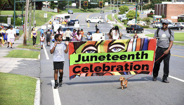 Dalton's inaugural Juneteenth parade brings out people to celebrate freedom