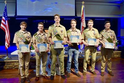 6 young men earn Eagle Scout badges