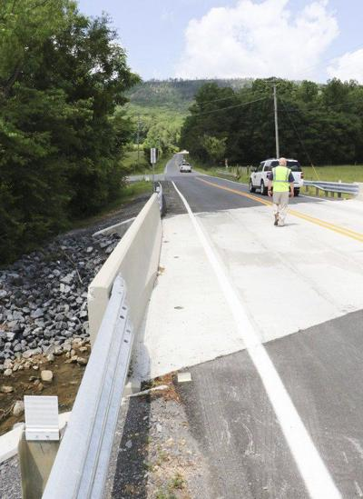 Whitfield County helps with bridge construction