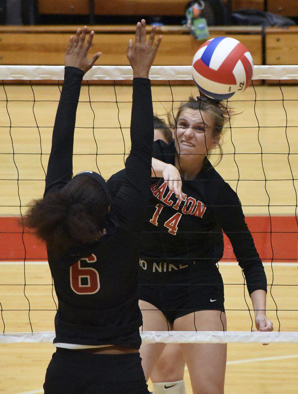 High school volleyball roundup: Dalton earns pair of wins as region play begins
