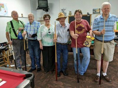 Dalton-Whitfield Senior Center hosts billiards tournament