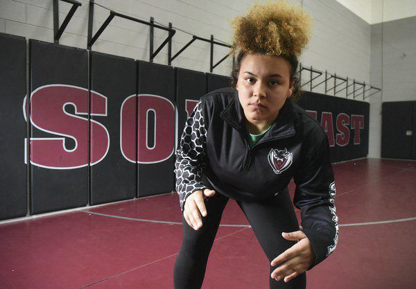 Southeast's Bonds blazes trail to success in inaugural years of girls wrestling