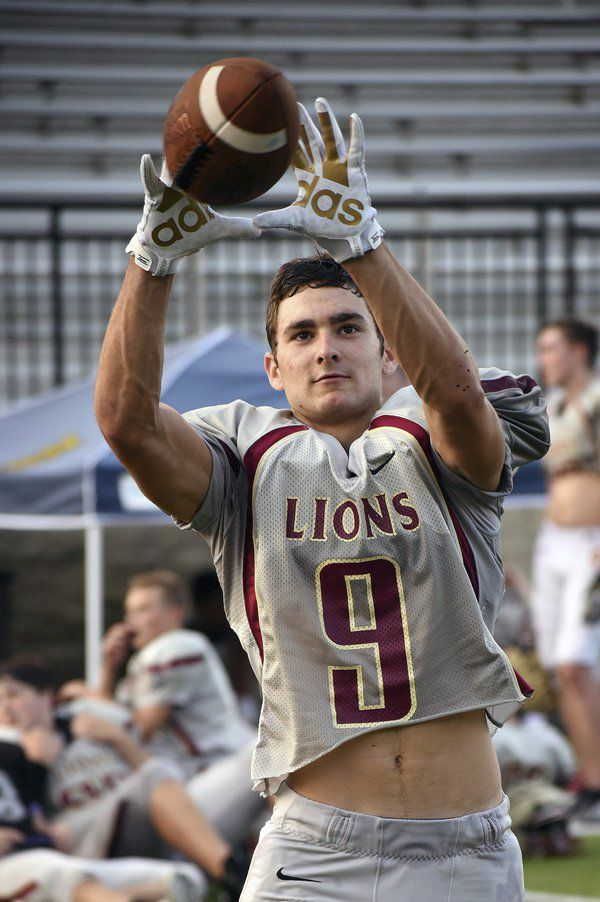 Perfect fit: Christian Heritage senior CB has come to love his spot on the field and in life