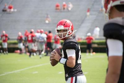 Georgia defensive players praise the play of Stetson Bennett after his signing with Georgia