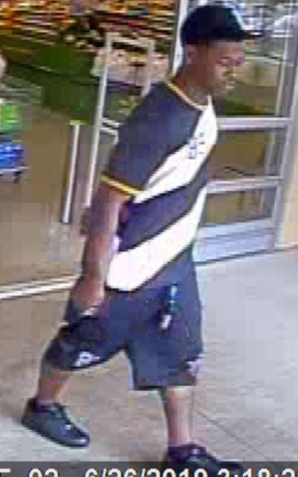DPD investigating theft from Walmart