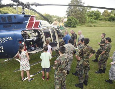 'Calm to chaos': Civil Air Patrol cadets get up-close view of Life Force