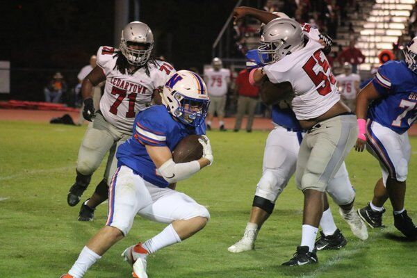 Ground game, blocked punts help Cedartown shut down Northwest