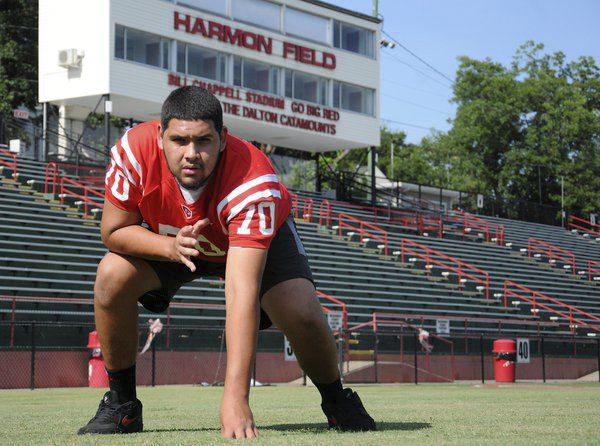 Recruitment road: Dalton offensive lineman says college opportunity became real once first offer arrived