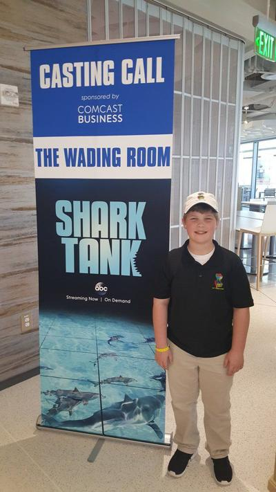 Young Dalton inventor pitches his product Le-Glue on 'Shark Tank' reality show