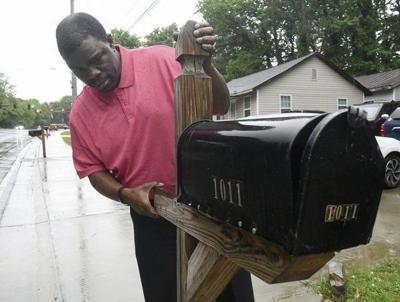 Goodlett wants answers after mailbox rearranged by the Postal Service, hit three times
