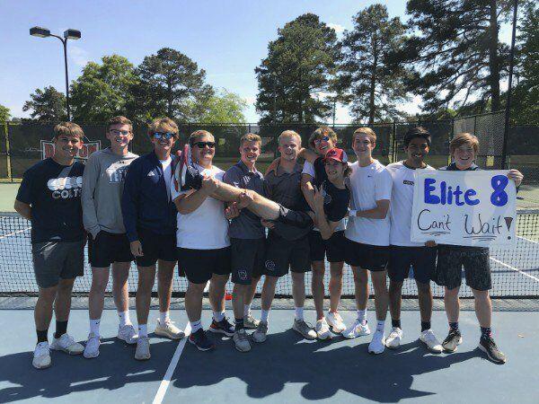 Creek, Northwest boys tennis teams find themselves in state's Elite 8