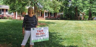 Wanda Bowman awarded 'Yard of the Month'