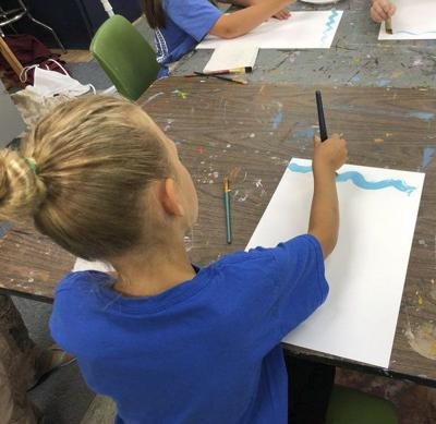 Summer camps offered at the Creative Arts Guild