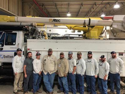 Dalton Utilities crew returns to Louisiana