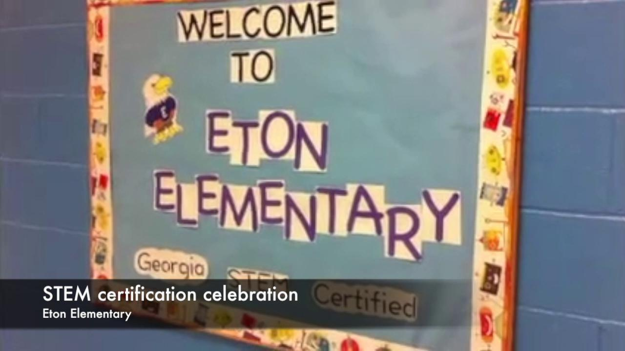 Something To Buzz About Eton Elementary Earns Stem Certification
