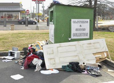Proposed Dalton ordinance could crack down on unkept donation boxes