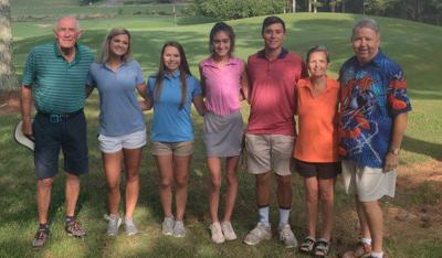 Golfers association awards scholarships