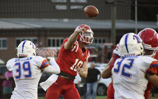 Soaring scoring: Dalton tops county-rival Northwest behind Gibbs' four touchdowns