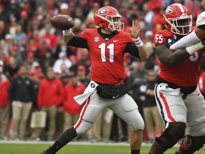 Looking at Georgia's potential 2019 offensive depth chart