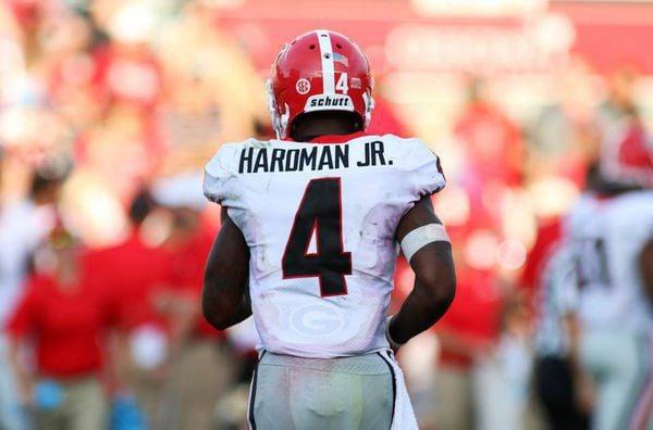 Georgia WR Hardman Jr. carries on family football legacy