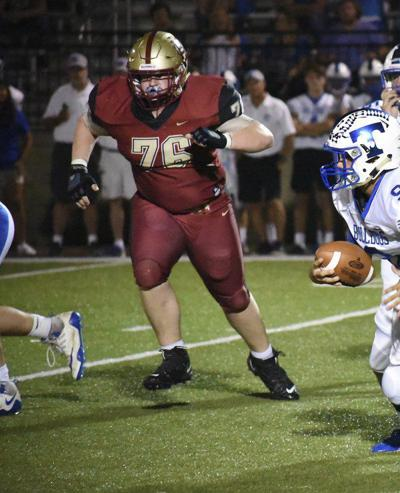 A nose for the ball: Shultz has been a key part of Christian Heritage's defense