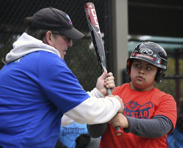 Miracle League players brave rain and wind for All-Star games