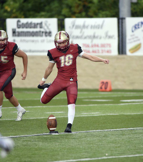 Recruitment road: Christian Heritage kicker hopes to earn scholarship following appearances at national camps