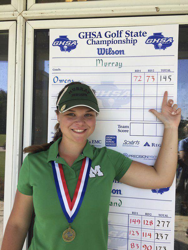 High school golf roundup: Christian Heritage boys, Murray County senior win state championships