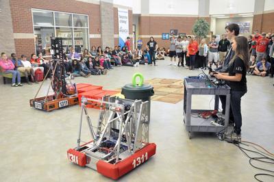 Robots at school.