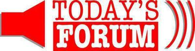 Today's Forum for Sept. 12