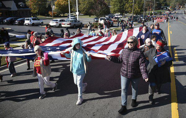 'It has been my honor': Veteran of the Year recognized after Veterans Day Parade