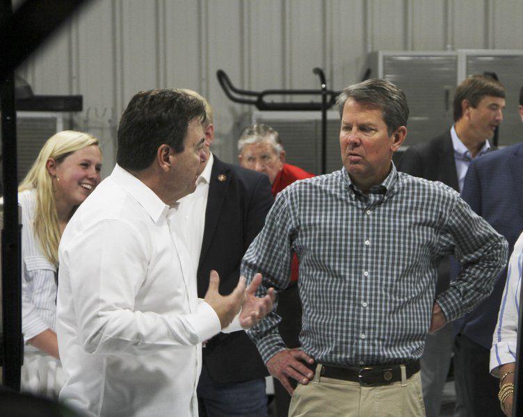 Kemp talks rural growth in Cairo visit