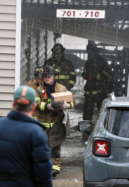 SLIDESHOW: Fire at Park Canyon apartments   Local News ...